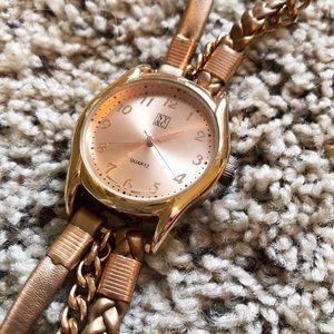 NY&C Wristwatch, rose gold